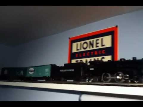 O Scale Ceiling Mounted Train