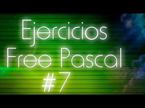 Ejercicios de Pascal - 07: función de conversión de decimal a binario