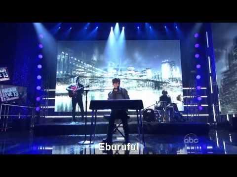 Greyson Chance - Sunshine And City Lights (new Year's Rockin' Eve 2013) video
