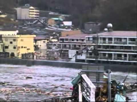 Japan Tsunami 3 11 2011 (unedited) Part 1 video