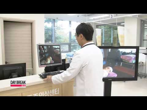 Local hospital demonstrates how Google Glass can be used in medical services   구