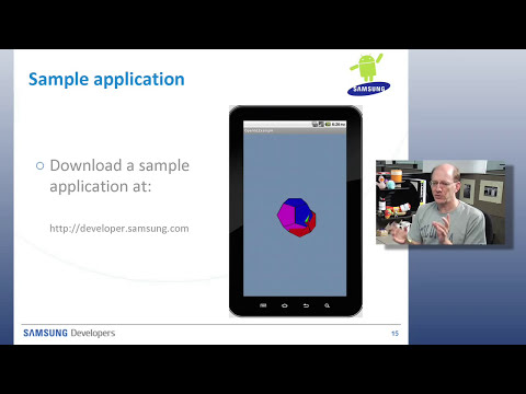 Samsung Developers Program: Introduction To OpenGL ES on Android