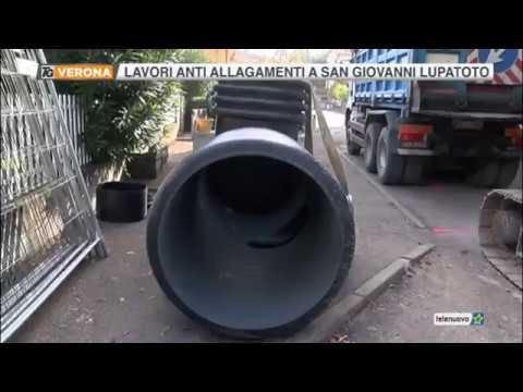 Servizio TG del 17.10.17 - San Giovanni Lupatoto. Partono i lavori di Acque Veronesi in via Madonnina
