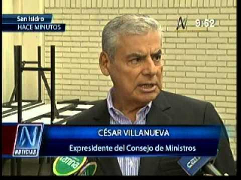 César Villanueva (01/05/2014)