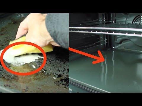 Ставим вот ЭТО в грязную духовку. Через несколько минут она будет как новая.