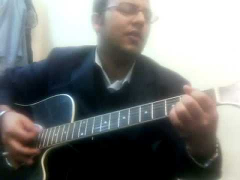 Yaad Aayenge Ye Pal (KK) Guitar chords with solo.