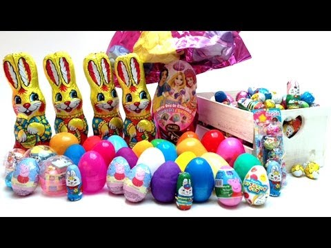 Play Doh Eggs Easter Eggs Surprise Eggs Japanese Eggs Peppa Pig Disney Princess Anpanman Toys video