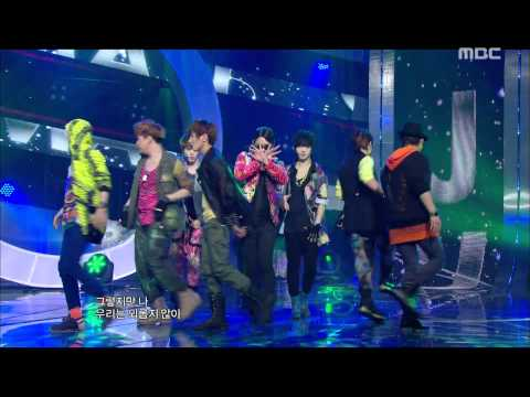 Super Junior - Superman, 슈퍼주니어 - 슈퍼맨, Music Core 20110806 video