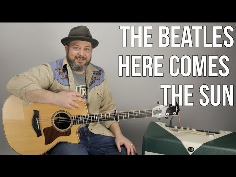 """How To Play """"Here Comes The Sun"""" By The Beatles On Guitar"""