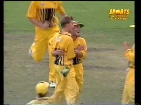 Young Brett Lee Vs Steve Waugh 1997- No Respect! video