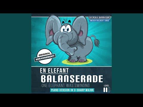 En elefant balanserade (piano Version)