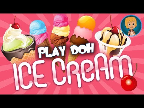 PLAY DOH ICE CreAm PlaYset Gameplay and frozen Princess Elsa Nails PROM Game