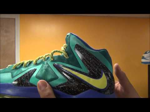 Nike Lebron 10 Elite X Miami Dade County Sneaker Review,Lace Swap + On Feet W/ Dj Delz @DjDelz