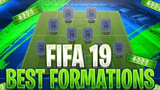FIFA 19 | BEST FORMATION FOR WEEKEND LEAGUE | 4-2-2-2 | CUSTOM TACTICS + INSTRUCTIONS! (26-4)