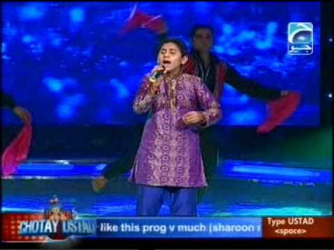 Chotay Ustad 2010 Performance of Shahid(Kanday  Utay) From Pakistan...