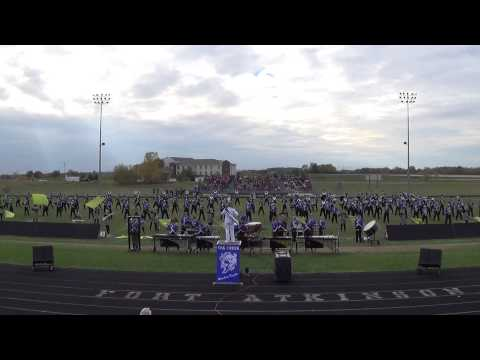Oak Creek High School (Wisconsin) Marching Knights @ the 25th Annual Tournament of Bands