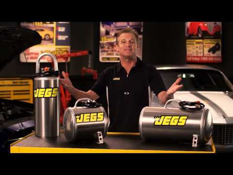 JEGS Premium Portable Aluminum Air Tanks With Kenny Wallace