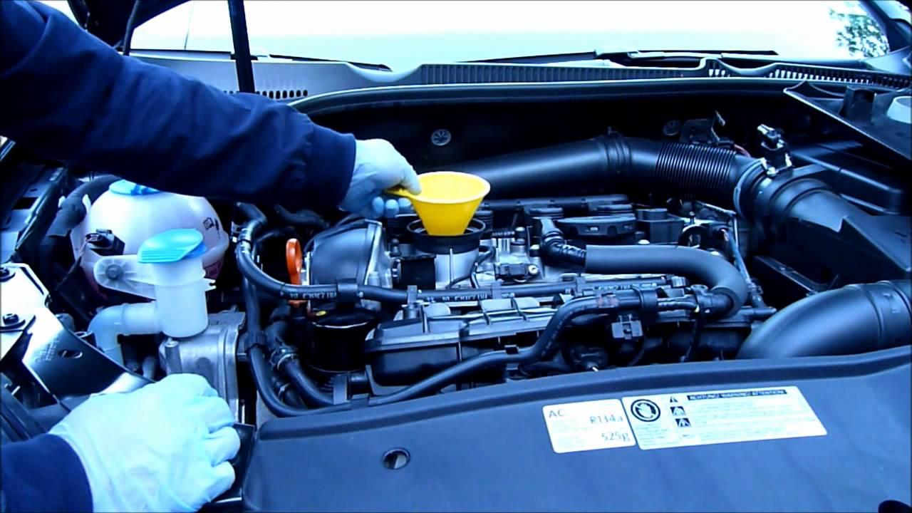 2011 VW GTI 2.0T TSI DIY OIL CHANGE - YouTube