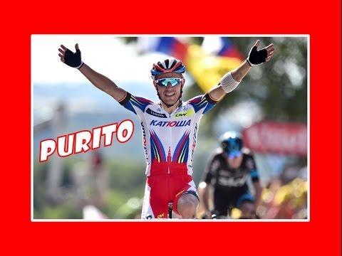 Tour de France 2015 - Joaquim Rodriguez : étapes 4, 5, 6, 7, 8, 9 [FR]