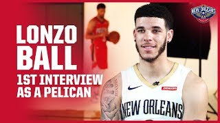 Lonzo Ball Looking Forward to a Fresh Start with the Pelicans | New Orleans Pelicans