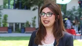 Biyomühendislik öğrencisi Fulya Çalman Üsküdar Üniversitesindeki başarı serüvenini anlatıyor