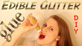 How To Make Edible Glitter Glue That Really Works!!!