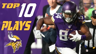Vikings Top 10 Plays of the 2016 Season | NFL Highlights