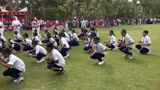 ২৬ মার্চ স্বাধীনতা দিবসের ডিসপ্লে, মানিক মিয়া কে,জি, স্কুল,কাউখালি