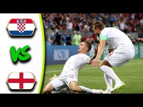 England v Croatia ● 2-1 ● Extra-Time Highlights ● Mandzukic Late Winner ● 11.07.18 ● HD thumbnail