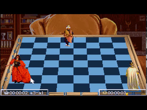 Chess Maniac 5 Billion and One - 1993 PC Game, introduction and gameplay
