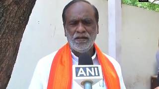 Suspended BJP MLAs protest outside Telangana Assembly - ANI News