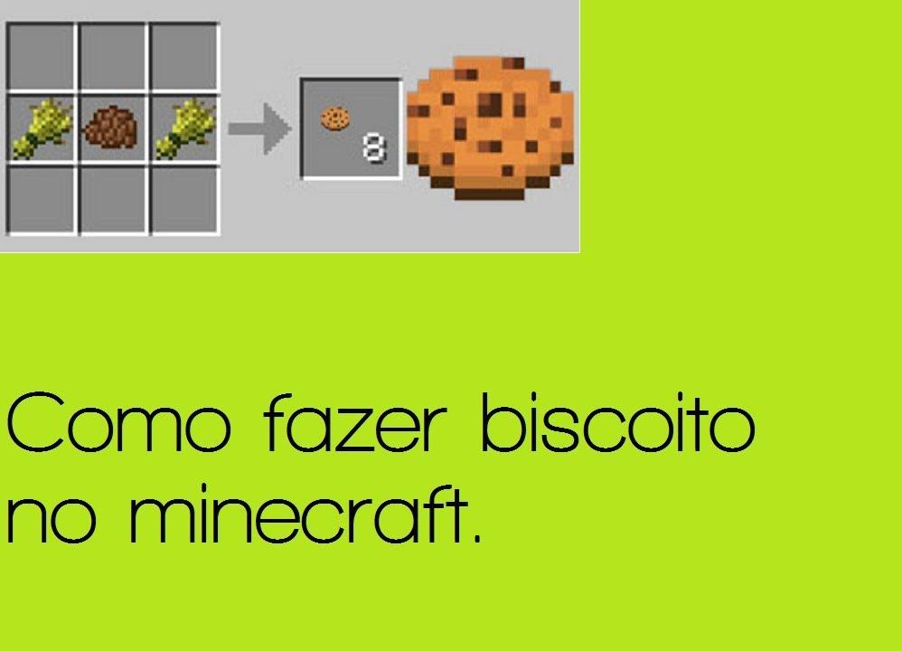 Tutorial Minecraft Como fazer farinha de osso e bolachas  YouTube -> Como Fazer Banheiro Moderno No Minecraft