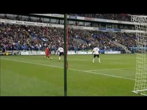 fernando torres pass to steven gerrard vs Bolton.