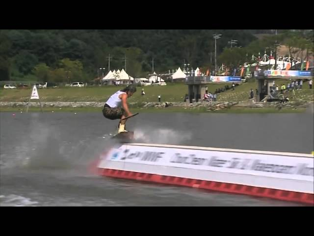IWWF World Cup - Wakeboard Men Korea 2010