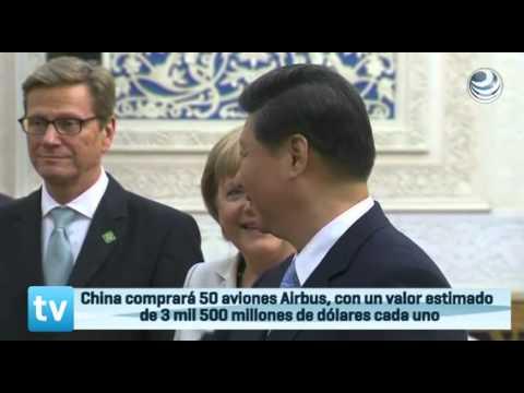 Merkel se reúne con Xi Jinping