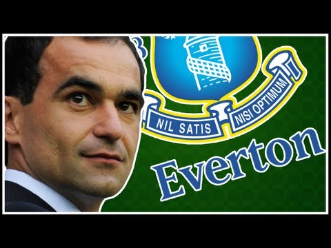 Roberto Martinez Welcome to Everton!