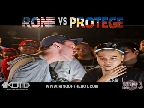 KOTD - Rap Battle - Rone vs Protege (USA vs PHILIPPINES)