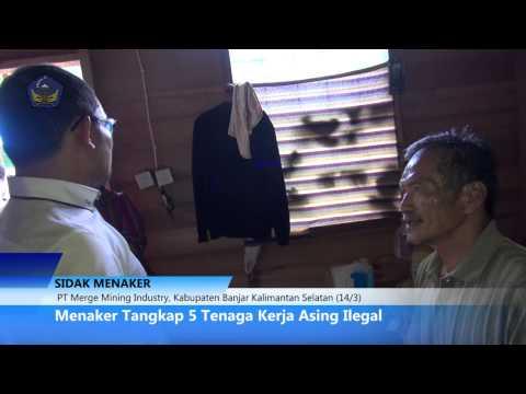 [EXCLUSIVE.!!!] Menaker @hanifdhakiri CIDUK TKA Ilegal Pertambangan Batubara, Banjarmasin.
