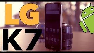 LG K7 UNBOXING EN ESPAÑOL (UN BUEN ENTRY LEVEL)
