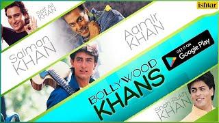 """Bollywood Khans"" - Download FREE App @GooglePlayStore"