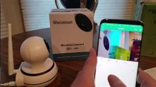 (Episode 2404) Amazon Prime Unboxing: eLinkSmart WiFi Camera Wireless Security Camera @amazon