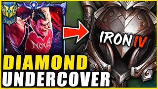 I HIRED A COACH AND PRETENDED TO BE AN IRON 4 DARIUS MAIN **HILARIOUS ENDING