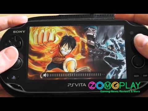 One Piece: Kaizoku Musou 2 Unboxing & First Impressions (PS Vita) [HD]