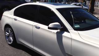 2013 BMW 750i Limo Tint all around! Los Angeles, CA 310.827.8121