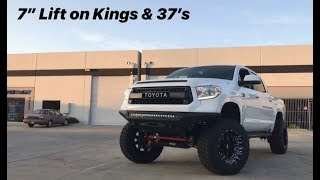 "1794 Edition Tundra 7"" Lift on Kings & 37's"