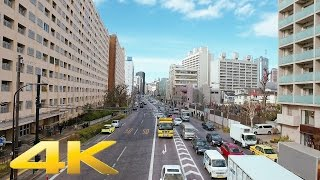 Walking around Hiroo, Tokyo - Long Take【東京・広尾】 4K
