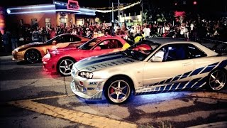 2 fast 2 furious - first race