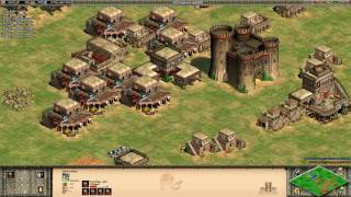 Age of Empires II Deathmatch - Saracens vs Britons