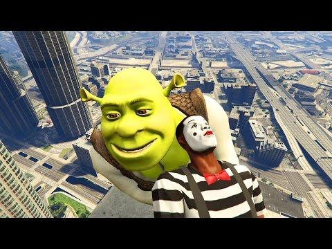 GTA 5 Brutal Kill Compilation (GTA V Shrek Funny Moments Fail Thug life)