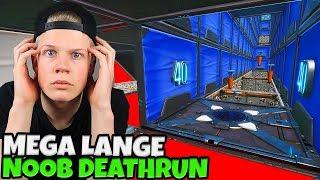MEGA LANGE NOOB DEATHRUN! - Fortnite Creative